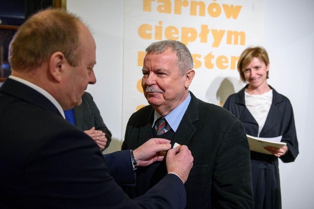 Krzyż Małopolski Dla Prof Władysława Pluty